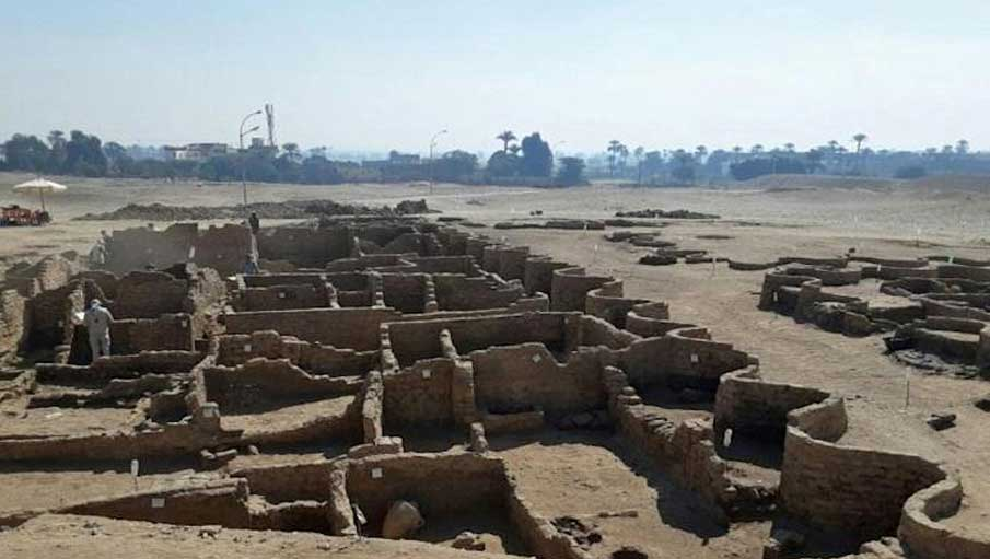 3000-Year-Old 'Lost Golden City' Of Ancient Egypt Found Buried Under Sand